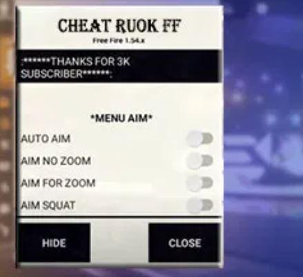 Cheat Ruok FF APK Terbaru 2020