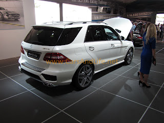 Goodwood Festival of Speed: Mercedes ML 63 AMG Photos