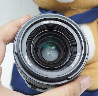 Jual Lensa AF-S Yongnuo 35mm f2N