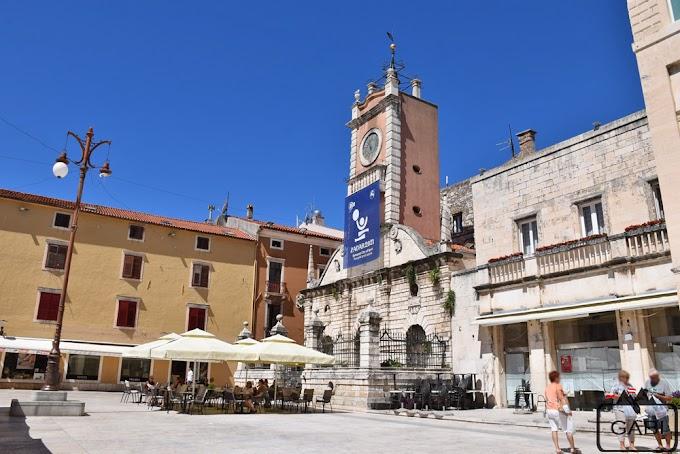 Spokojny Zadar w czasach pandemii