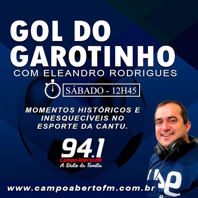 Hoje tem homenagem especial ao garoto Gustavo Henrique no programa Gol do Garotinho na Campo Aberto 94.1
