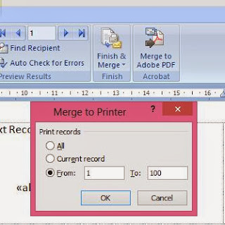cara print label undangan di ms word