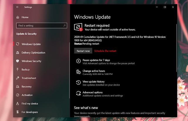 Microsoft Merilis KB4534132 Untuk Pengguna Windows 10 1909! Apa Yang Diperbaiki?