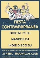 Fiesta Contempopranea 2017 en Maravillas Club