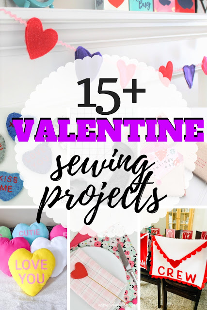Find some fun a fast Valentine sewing projects with this fun round-up of Valentine patterns.