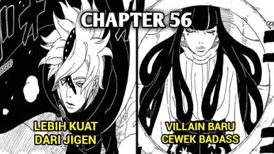 7 Fakta Menarik Yang Ada Didalam Manga Boruto Chapter 56