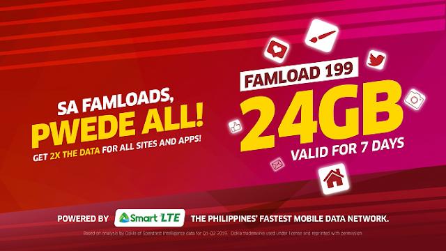 PLDT Home WiFi Prepaid Famload 199