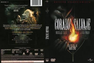 Cover, Dvd, Carátula: Corazón salvaje | 1990 | Wild at Heart