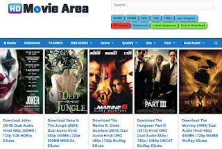 Hdmoviearea 2021 – Illegal HD Movies Download Website – Hdmoviearea Film