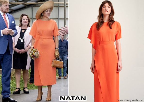 Queen Maxima wore a new dress from Natan