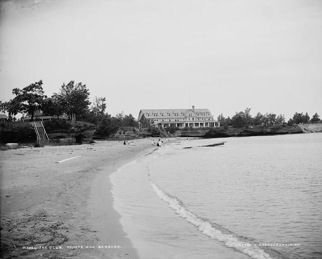 Beach at Pointe Aux Barques