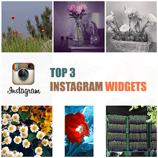 instagram widget, instagram