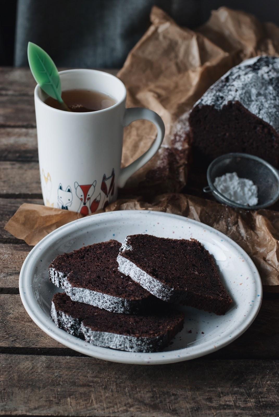 Szybkie ciasto czekoladowe z piwem