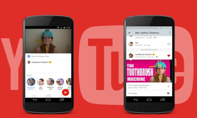 Youtube chat messenger