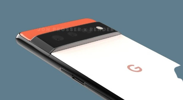 Google Pixel 6 Pro Appears Live Images With a Horizontal Cameras and Curved Display