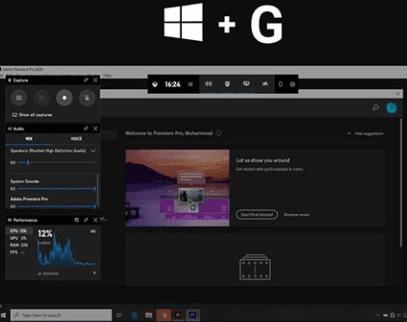 Screen Recording untuk Windows 10