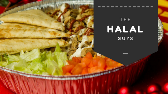 The famous gyro and chicken of The Halal Guys