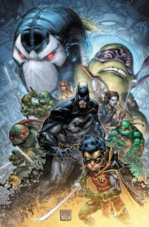 "Anunciado el crossover ""Batman/Teenage Mutant Ninja Turtles II"" para diciembre"