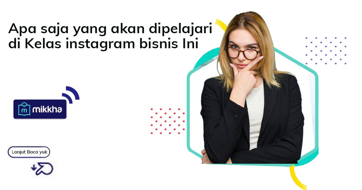 Pelatihan instagram marketing