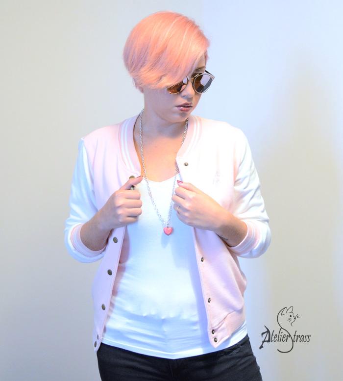 beisbolera rosa