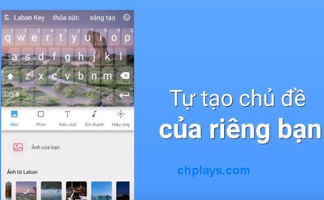Tải bàn phím gõ tiếng Việt - Laban Key Apk cho điện thoại Android d