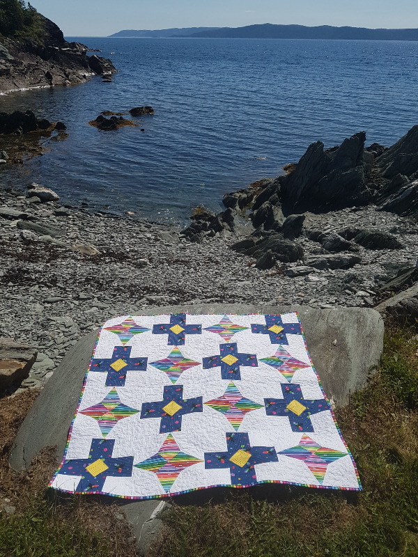 Level Up quilt pattern | DevotedQuilter.com