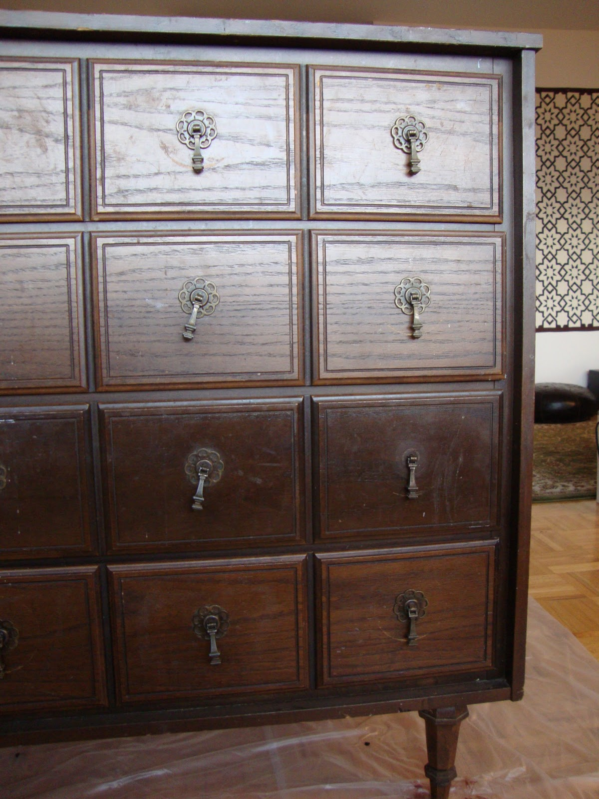 Honey Sweet Home: Before And After: A Goodwill Dresser