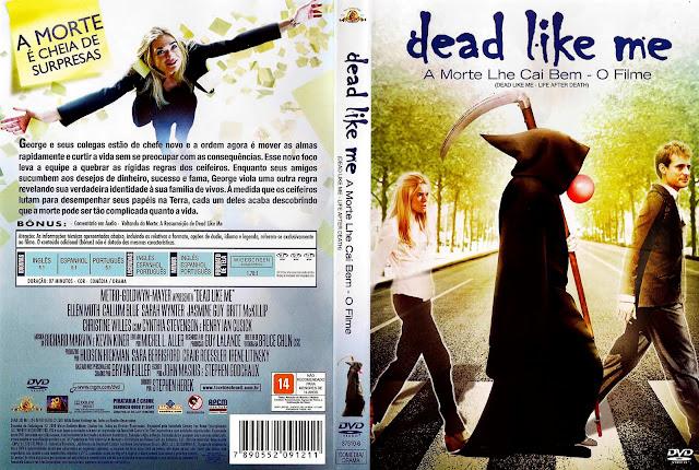 Capa DVD A Morte Lhe Cai Bem - O Filme