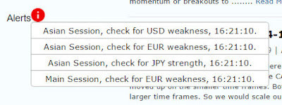 Live Currency Strength Alerts