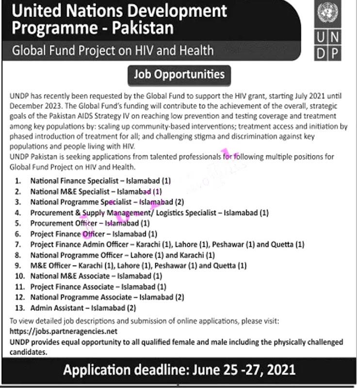 Latest Jobs in United Nations Development Programme UNDP 2021