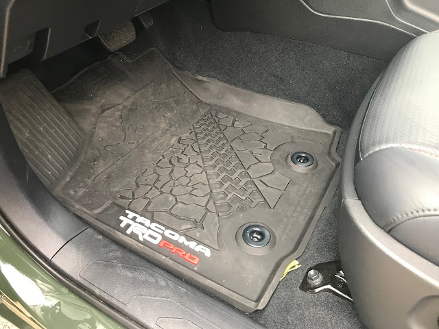 Floormat in 2020 Toyota Tacoma TRD PRO
