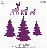 ODBD Custom Trees and Deer Dies