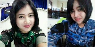 Ajib .. Serda Nur Aini, Perempuan Anggota TNI AU Pertama yang Terbangkan Pesawat Trike - Commando