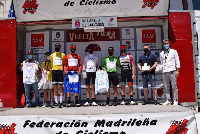 Robbe Claeys ganó la 4ª etapa de la Vuelta a Madrid