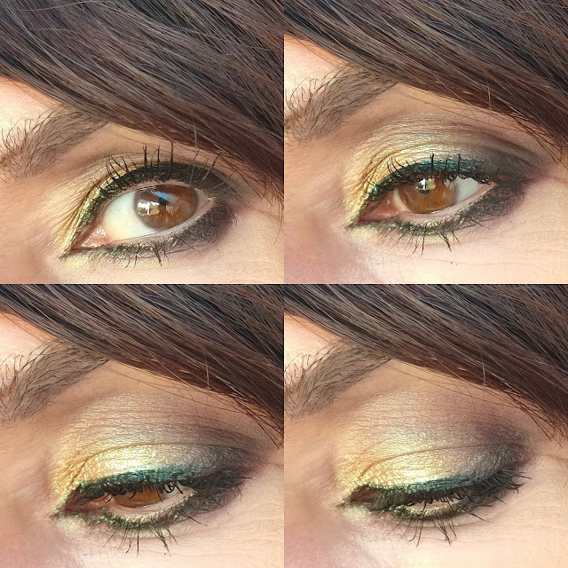 Maquillajes GLAM versión low cost: DORADO 03