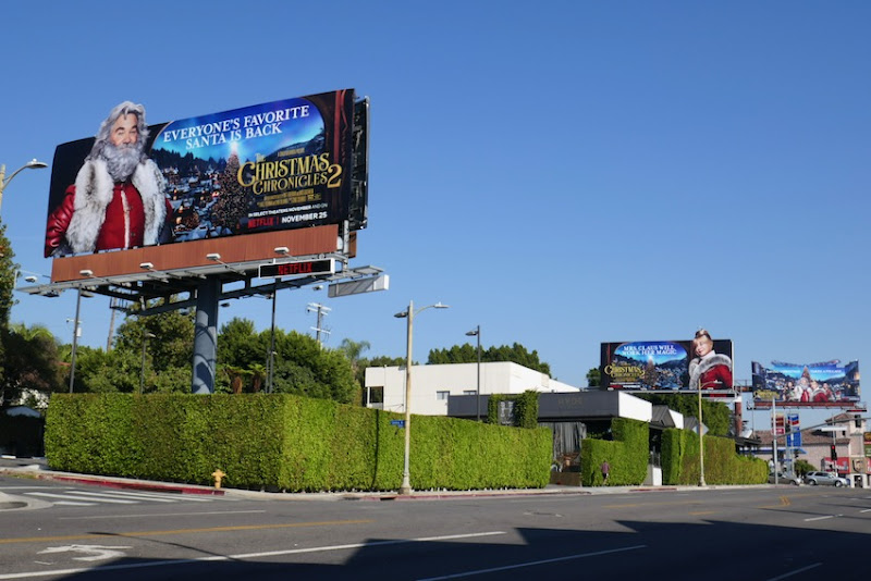 Christmas Chronicles 2 movie billboards
