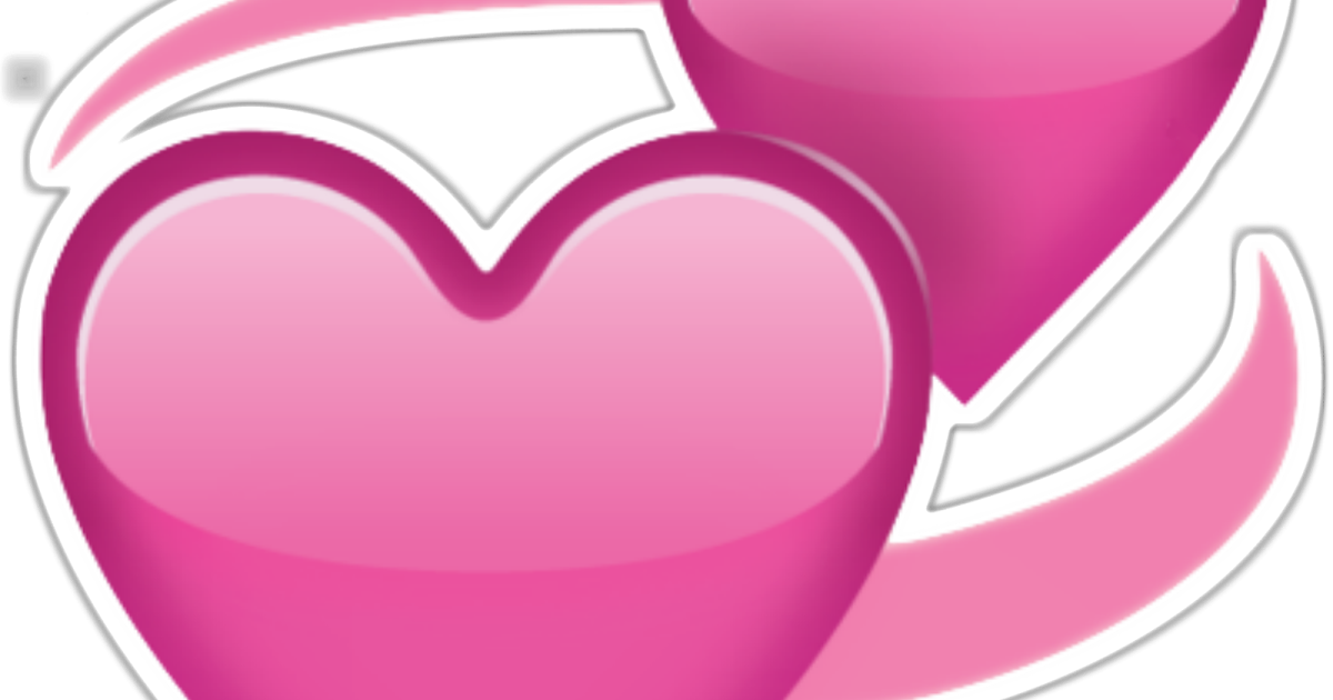 heart bow emoji - 1200×630