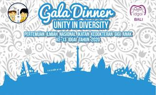 13032020 - GALA DINNER UNITY IN DIVERSITY PERTEMUAN ILMIAH NASIONAL IDGAI KE 13 TAHUN 2020 AT DISCOVERY HOTEL KUTA BALI