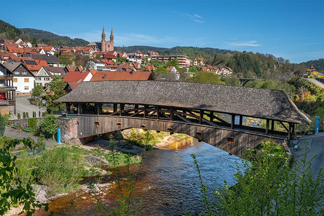 Premiumwanderweg Murgleiter | Etappe 2 von Gernsbach nach Forbach | Wandern nördlicher Schwarzwald 01