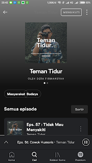 rekomendasi podcast di sportify indonesia