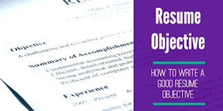 Advantages of Writing Career Objective in Resume