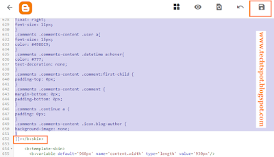 Customize Blogger Comment Box 2