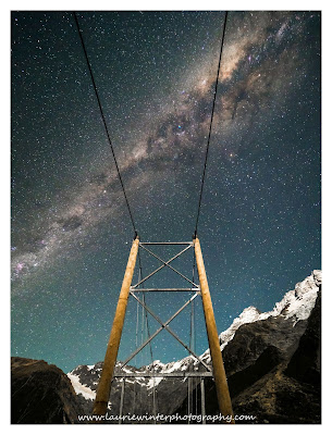 Aoraki, Hooker Lake, Hooker Valley, Milky Way, Mt Cook