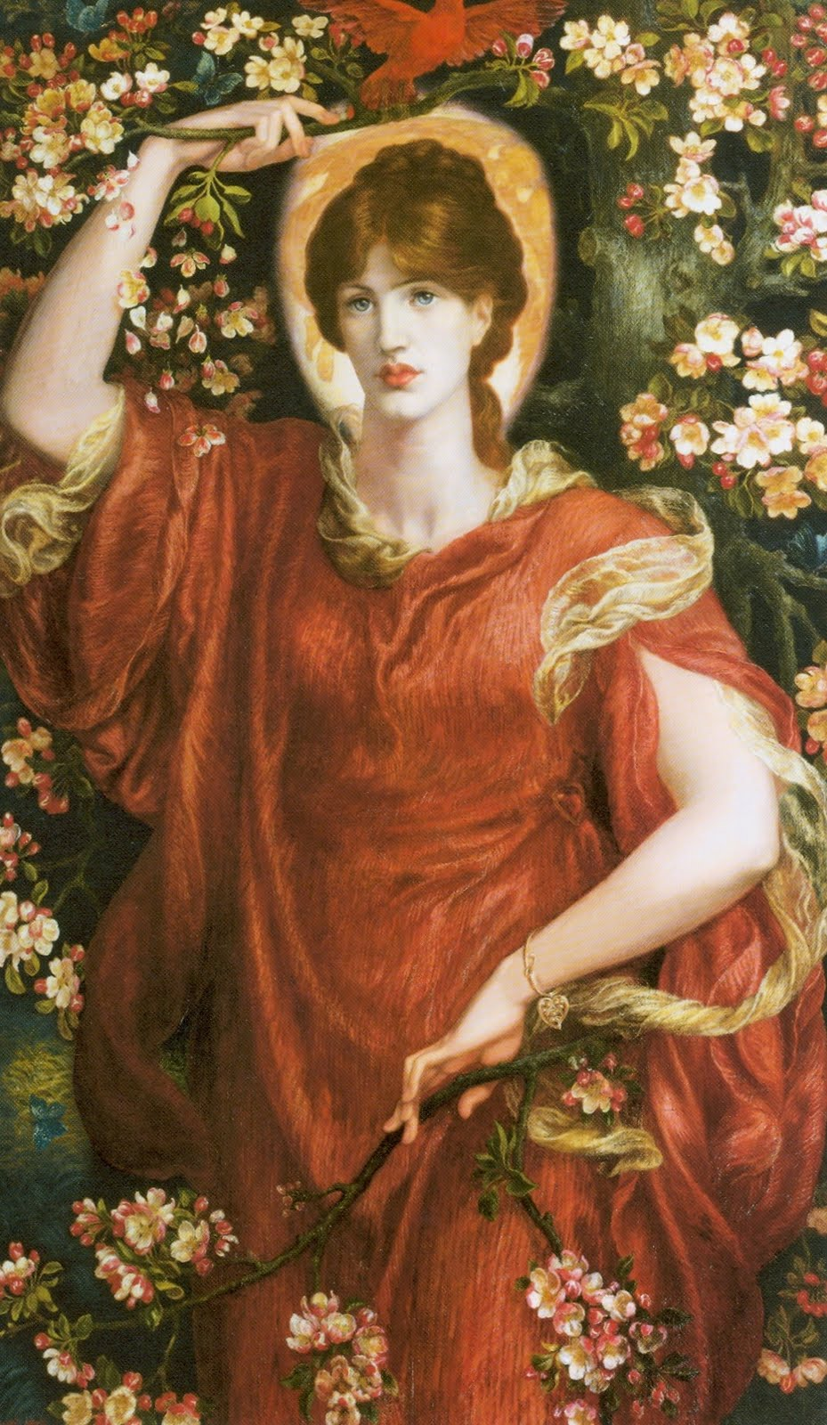 The Kissed Mouth Happy Birthday Rossetti