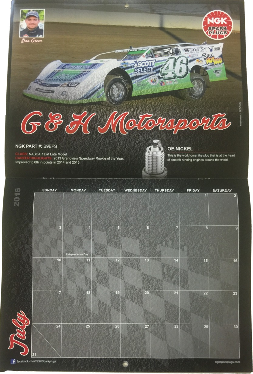 COWPATTY NATION: G & H Motorsports Part Of 2016 NGK Spark