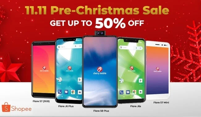 Get Up to 50% Off on CHERRY'S at Shopee 11.11 One-Day Exclusive Sale