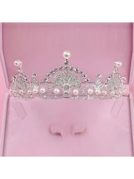 Sweet Pearl Rhinestone Wedding Jewelry Sets,astrending jewelry