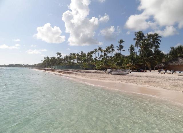 Praia Bibijagua em Punta Cana