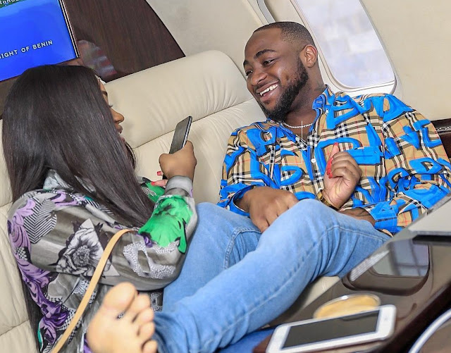Davido Prays For His Son, David Ifeanyi Jnr, At His Christening