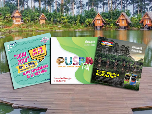 Tiket  Dusun Bambu Lebaran 2019